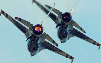 Военные  - General Dynamics F-16 Fighting Falcon Wallpapers and Backgrounds ID : 501048