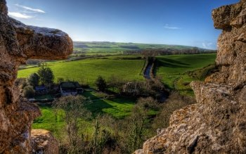 Man Made - Corfe Castle Wallpapers and Backgrounds ID : 501252