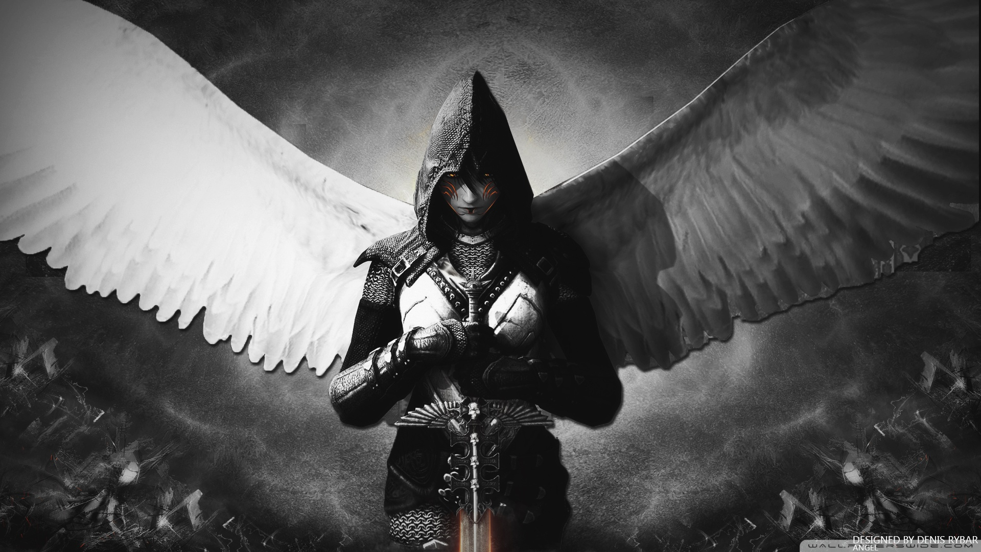 other wallpaper angel warrior - photo #30