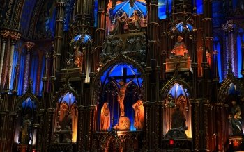 Religiös - Notre Dame Basilica In Montreal Wallpapers and Backgrounds ID : 502148