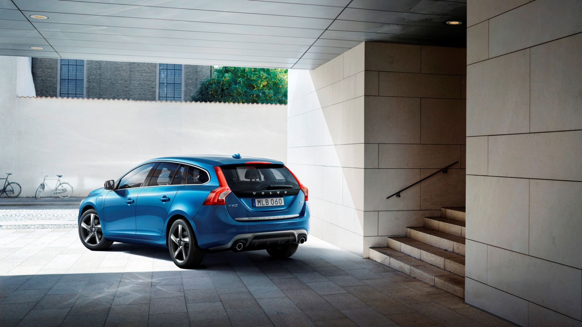 Volvo V60 Full HD Wallpaper and Background  1920x1080  ID:505686