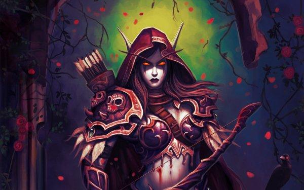 Video Game World Of Warcraft Warcraft Sylvanas Windrunner Horde HD Wallpaper | Background Image