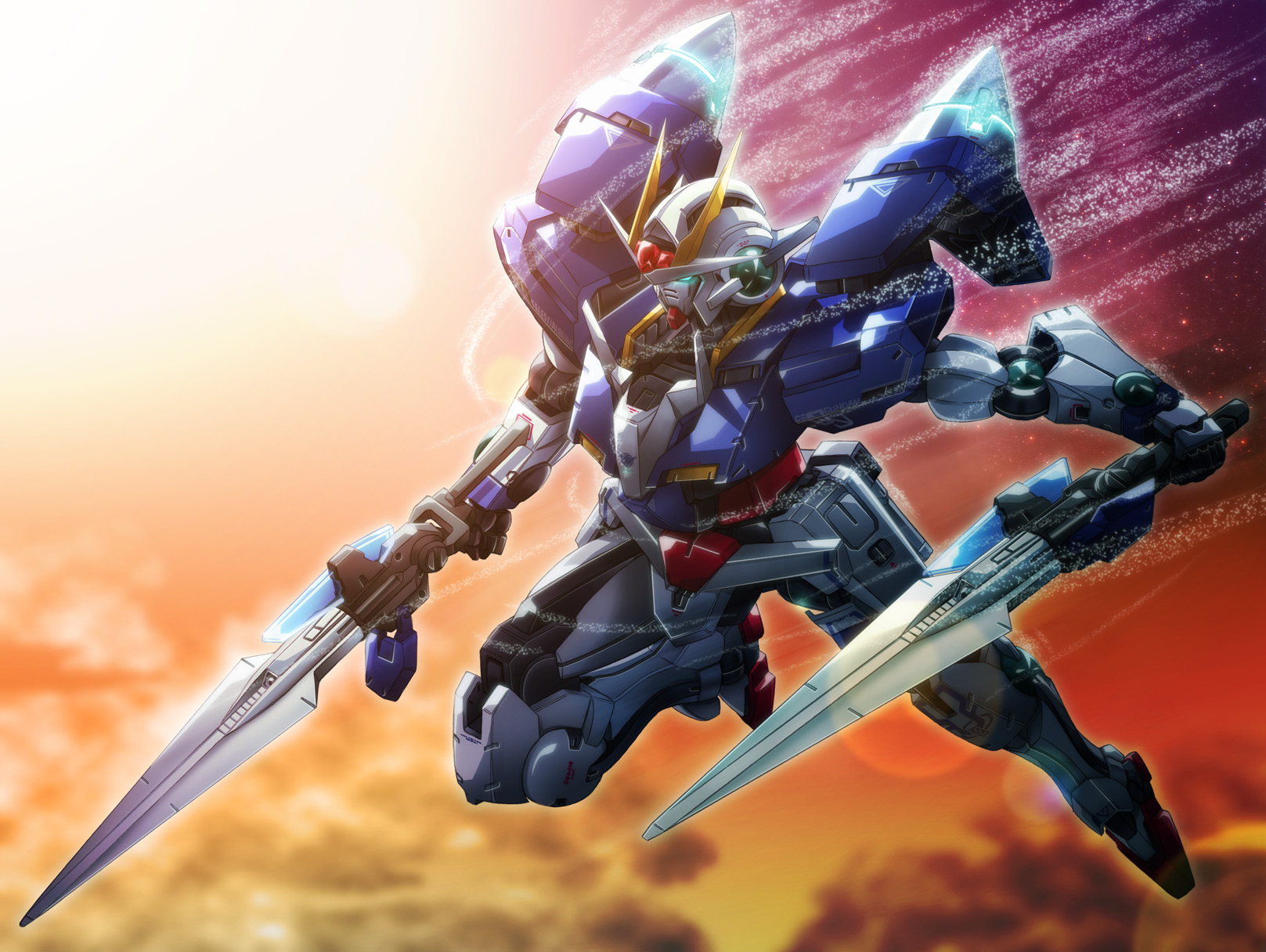 Anime - Gundam  - Transformer Wallpaper