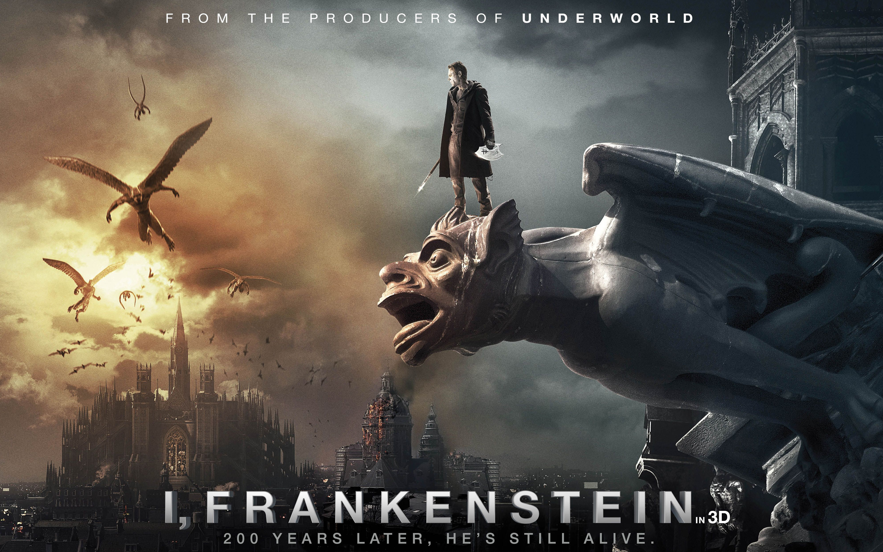 I, Frankenstein HD Wallpaper  Background Image  2880x1800  ID