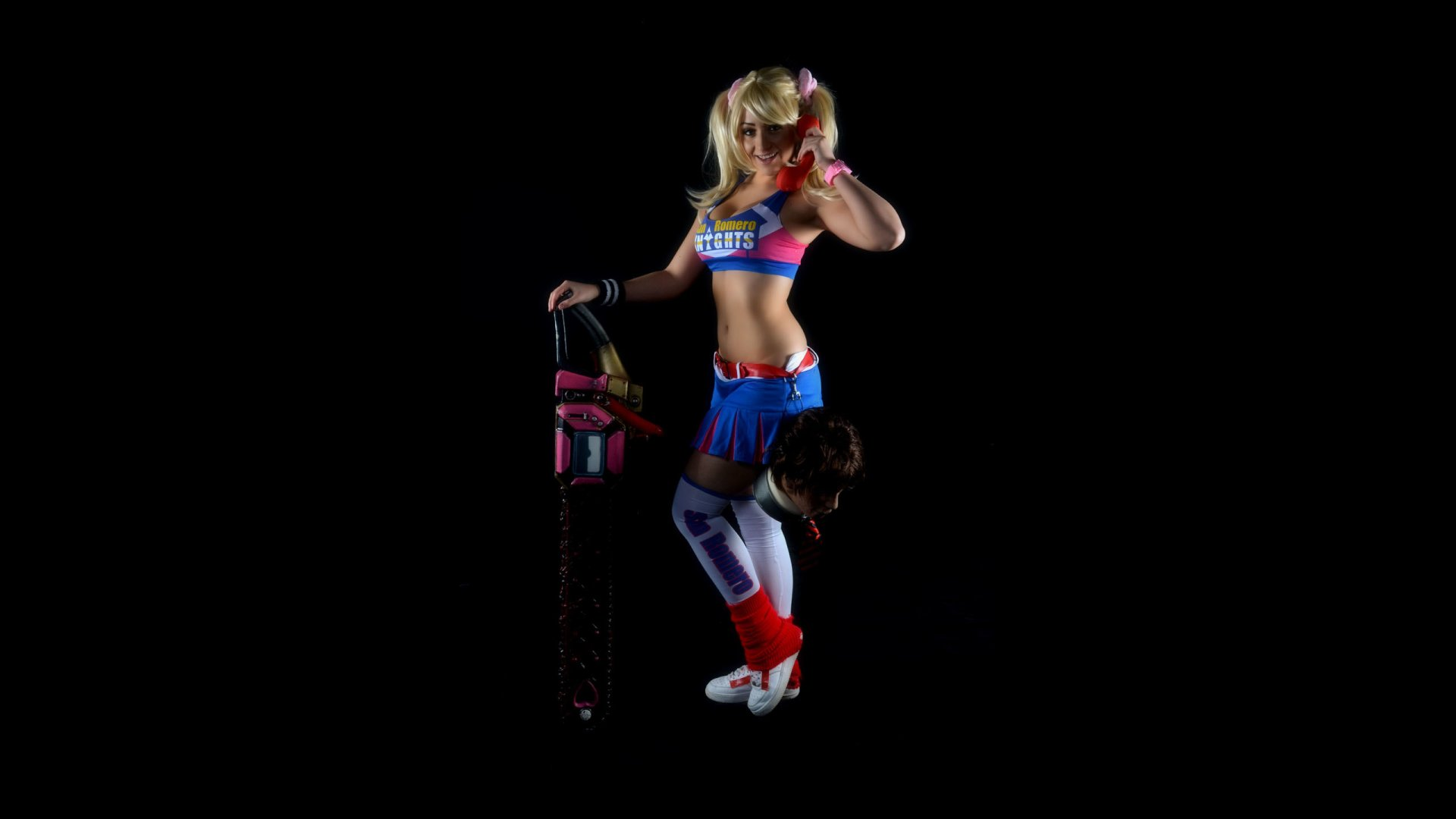 lollipop chainsaw full hd wallpaper and background