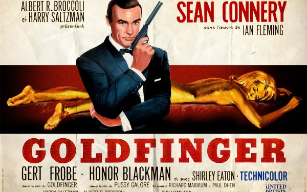 Movie Goldfinger Sean Connery James Bond HD Wallpaper | Background Image