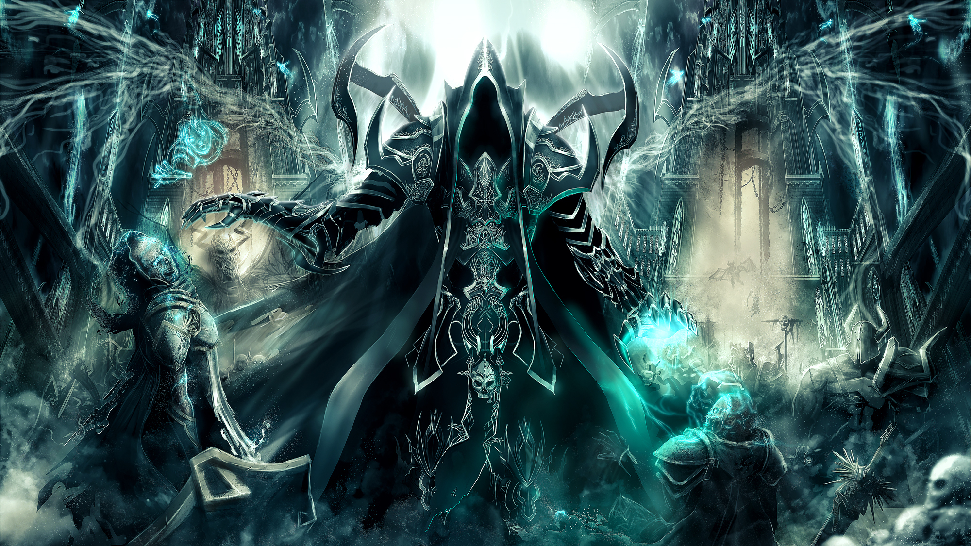 diablo iii reaper of souls full hd wallpaper and