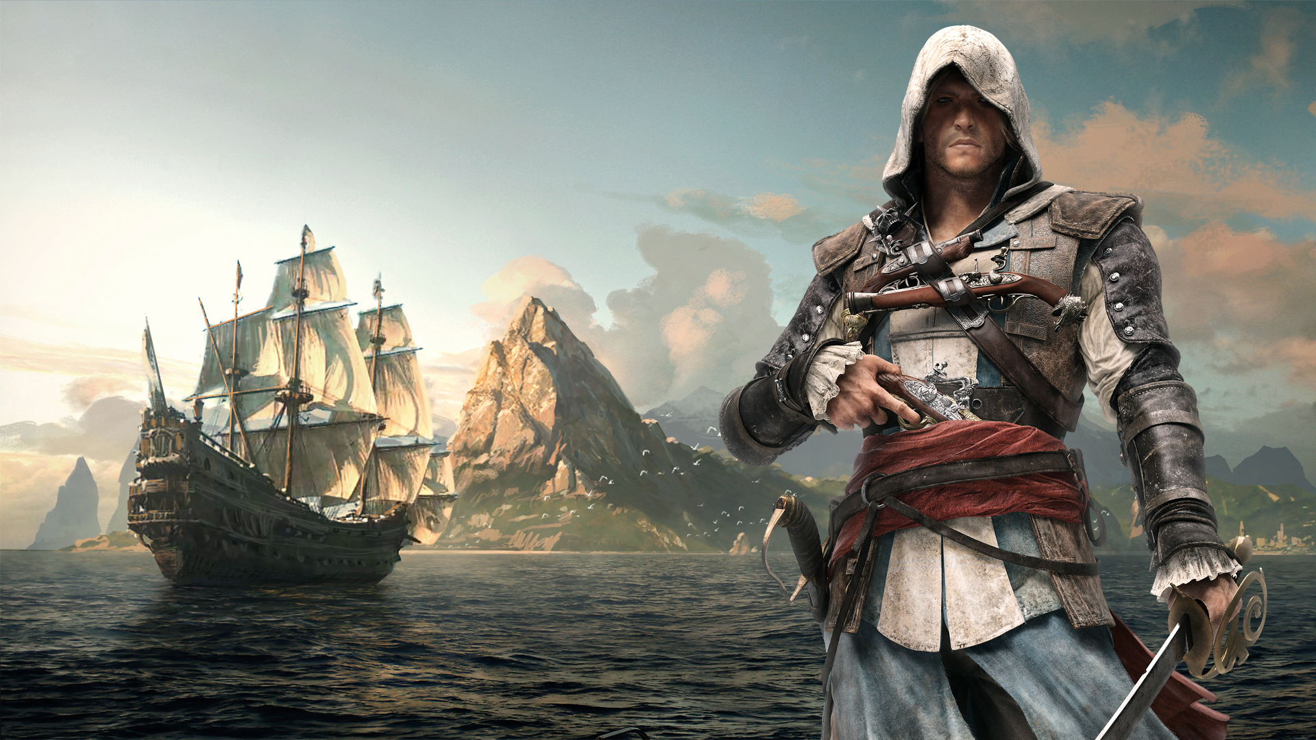 Assassins creed iv black flag full hd wallpaper and background video game assassins creed iv black flag wallpaper voltagebd Image collections