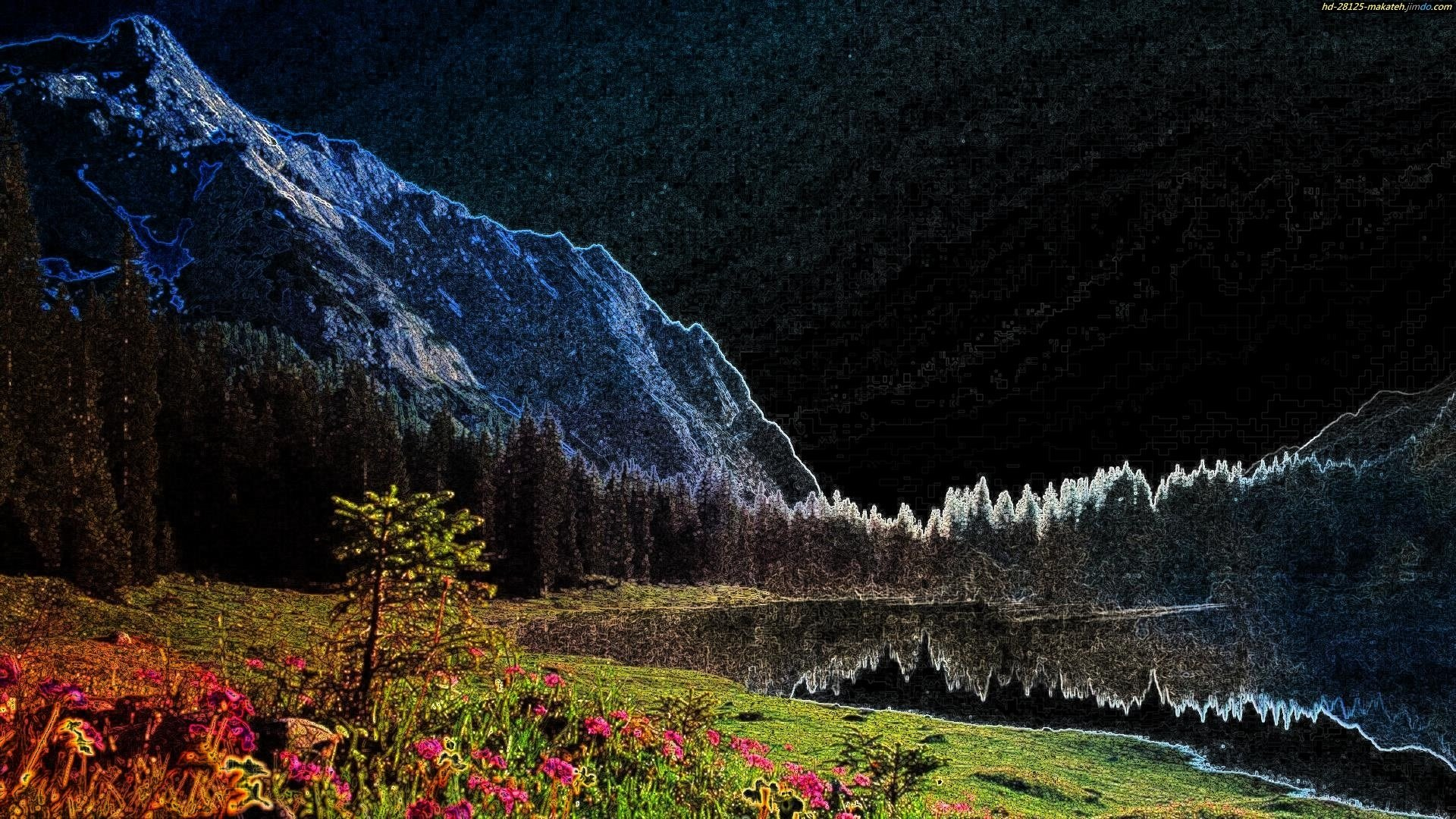 Landschaft 1 HD Wallpaper   Background Image   1920x1080 ...