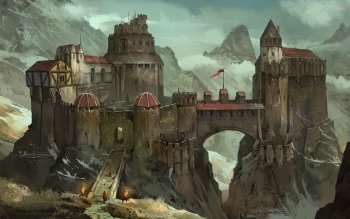 Fantasy - Castle Wallpapers and Backgrounds ID : 510374