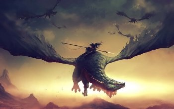 Fantasy - Drachen Wallpapers and Backgrounds ID : 510824