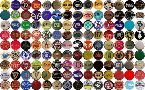 Misc Beer Bottle Caps HD Wallpaper | Background Image