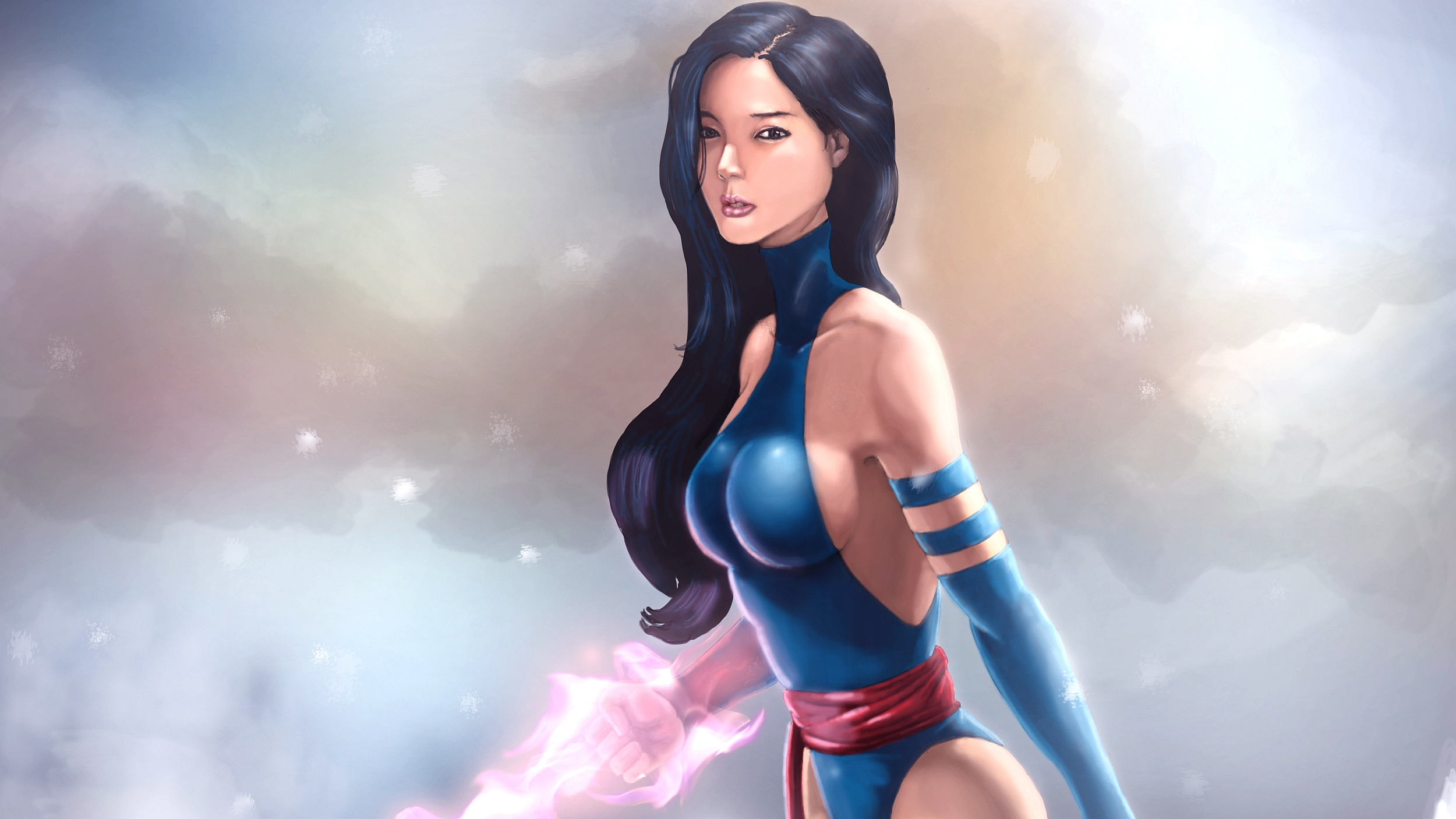 Psylocke Full HD Wallpaper And Background Image