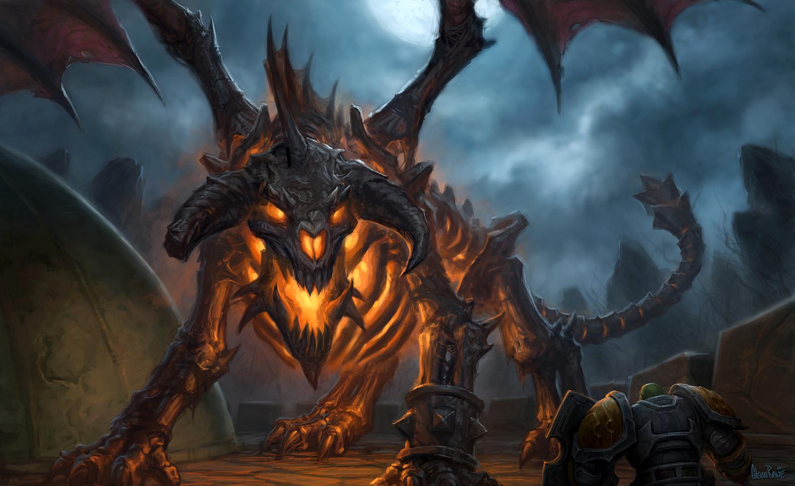 Of Warcraft The Burning Crusade Dragon World Wallpaper