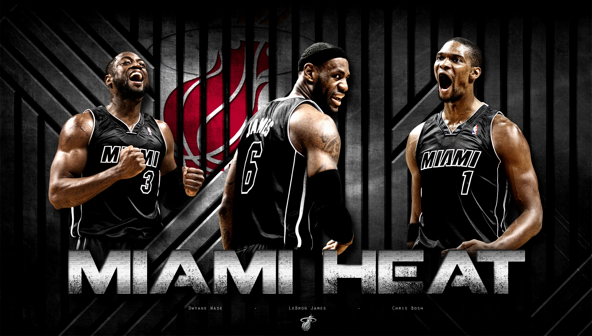 miami heat wallpaper and background image | 1900x1080 | id:512044