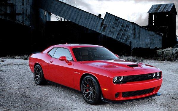 Vehicles Dodge Challenger SRT Dodge Dodge Challenger Dodge Challenger SRT Hellcat Car Red Car Muscle Car HD Wallpaper | Background Image
