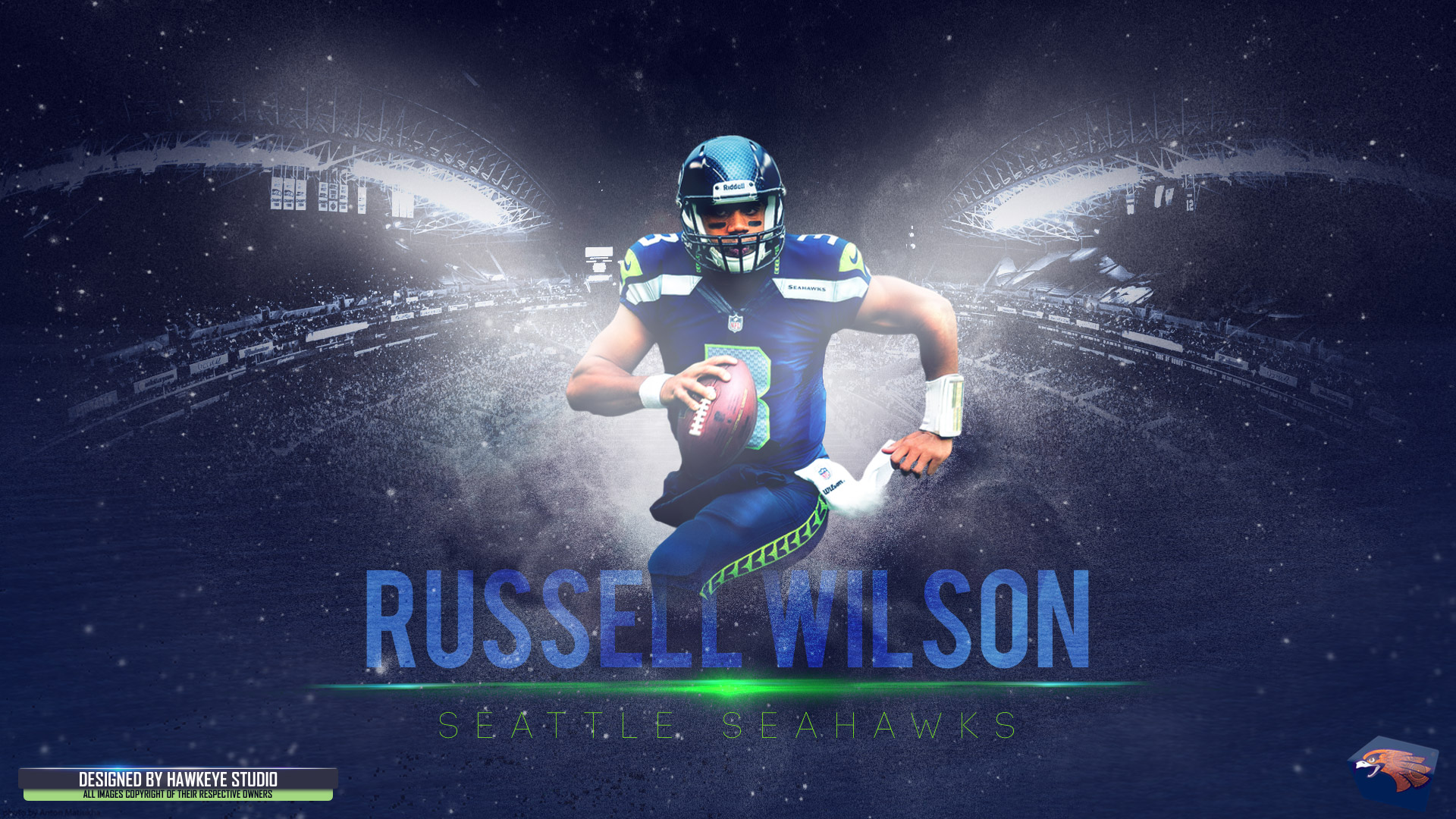 Russell Wilson HD Wallpaper | Background Image | 1920x1080 ...
