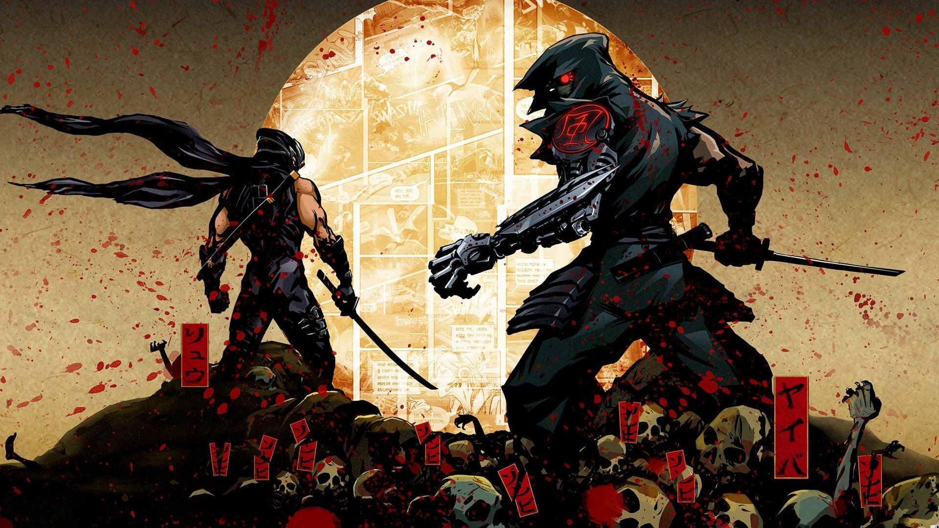 Game Ninja Gaiden Wallpaper: Yaiba: Ninja Gaiden Z HD Wallpaper