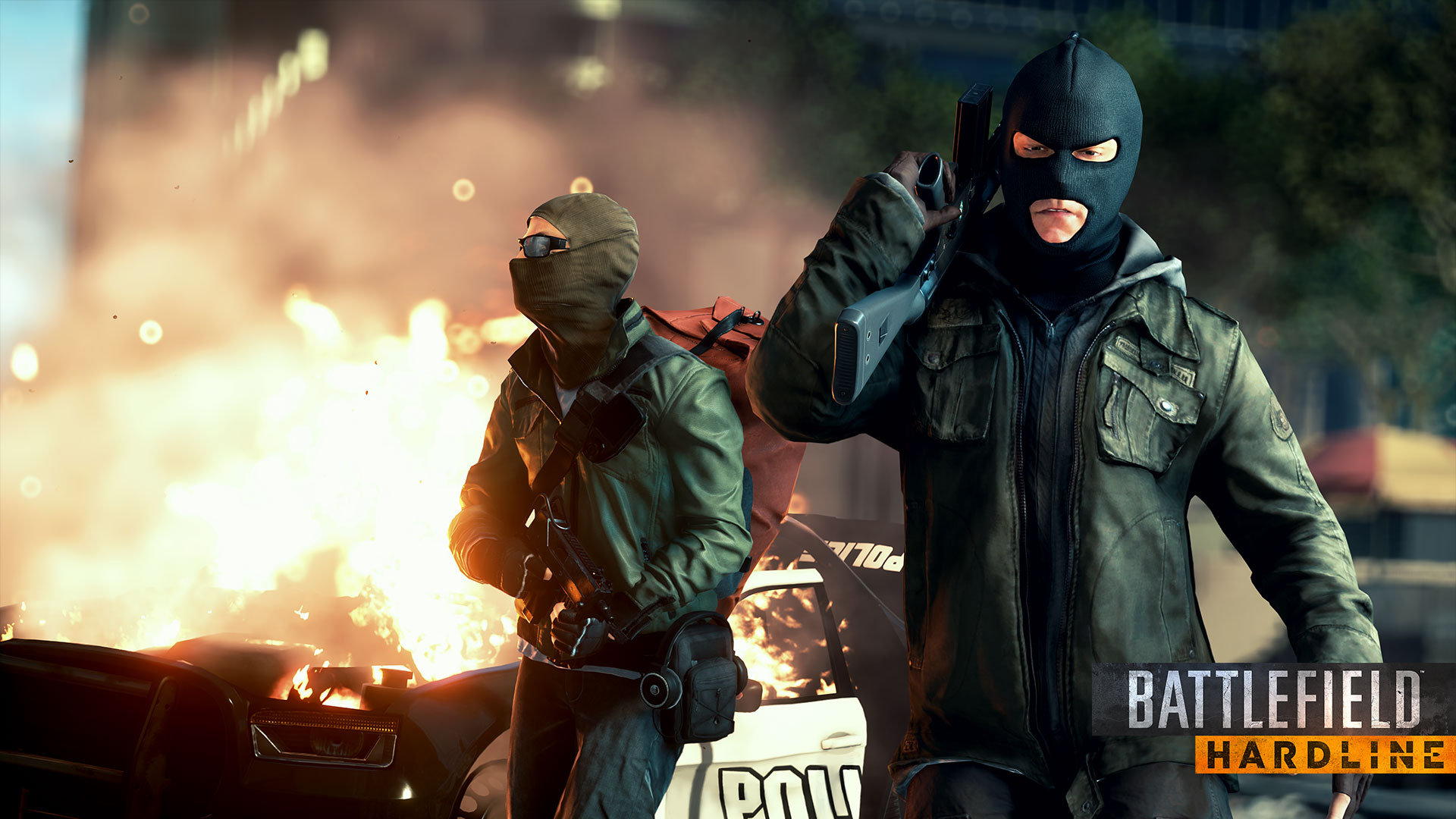 Battlefield Hardline Full HD Wallpaper And Background Image