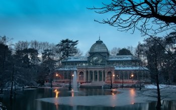 Man Made - Palacio De Cristal Wallpapers and Backgrounds ID : 514896