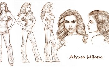 Celebrity - Alyssa Milano Wallpapers and Backgrounds ID : 515013