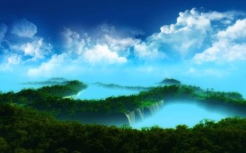 Fantasy - Landscape Wallpapers and Backgrounds ID : 515542