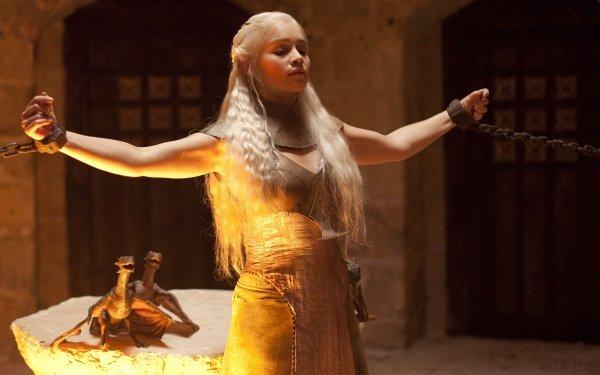 TV Show Game Of Thrones Daenerys Targaryen Emilia Clarke HD Wallpaper | Background Image