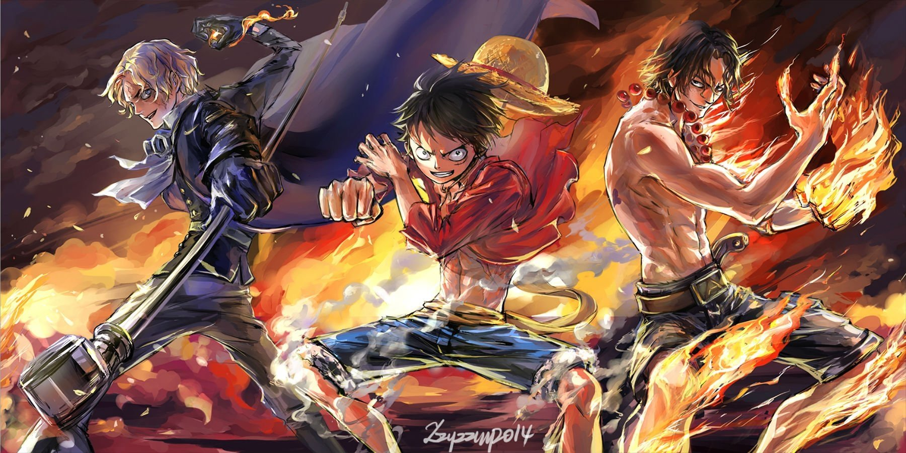 167 Portgas D Ace Hd Wallpapers Background Images Wallpaper Abyss