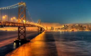 Man Made - Bay Bridge Wallpapers and Backgrounds ID : 516130