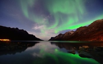 Earth - Aurora Borealis Wallpapers and Backgrounds ID : 516133