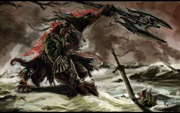 Dark Warrior HD Wallpaper | Background Image
