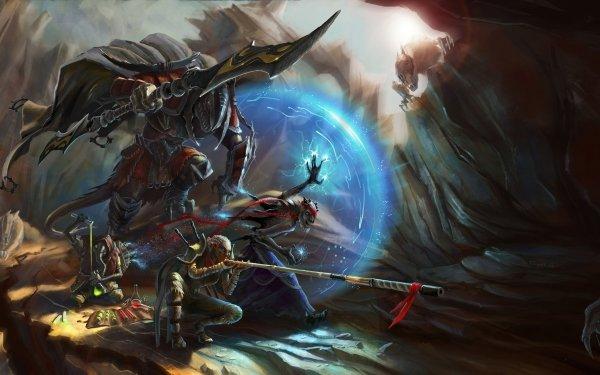Fantasy Warrior Elf HD Wallpaper | Background Image