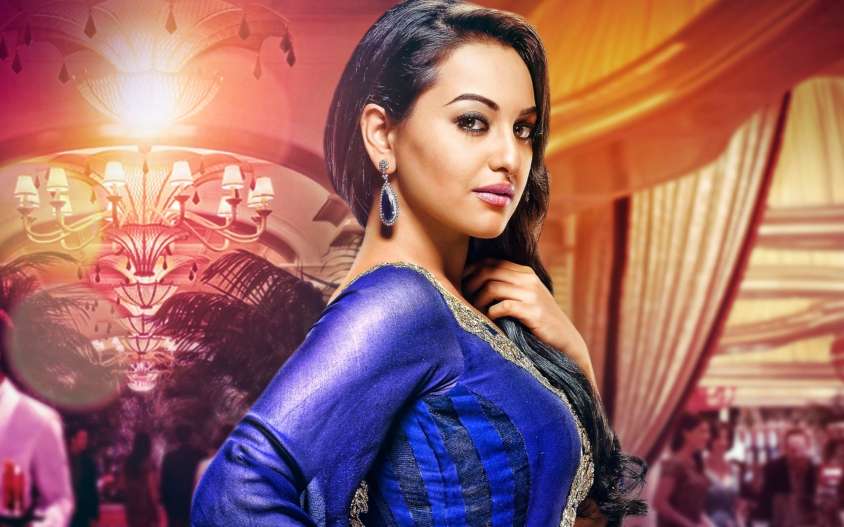 sonakshi sinha full hd wallpaper and background image | 2880x1800