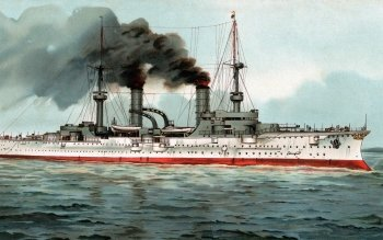 Military - SMS Fürst Bismarck (1897) Wallpapers and Backgrounds ID : 518446