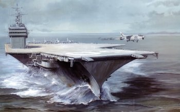 Military - USS Saratoga (CV-60) Wallpapers and Backgrounds ID : 518460