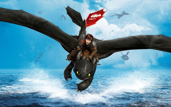 Movie How to Train Your Dragon 2 How to Train Your Dragon Hiccup Toothless HD Wallpaper   Background Image