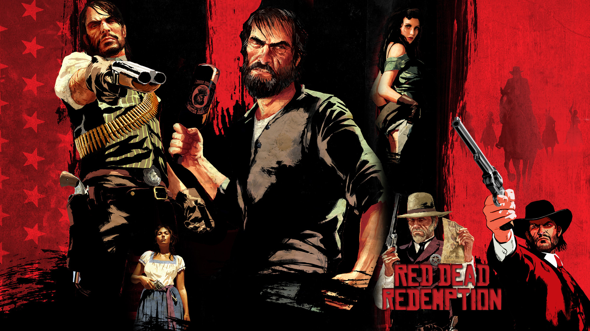 Red Dead Redemption Hd Wallpaper Background Image 1920x1080