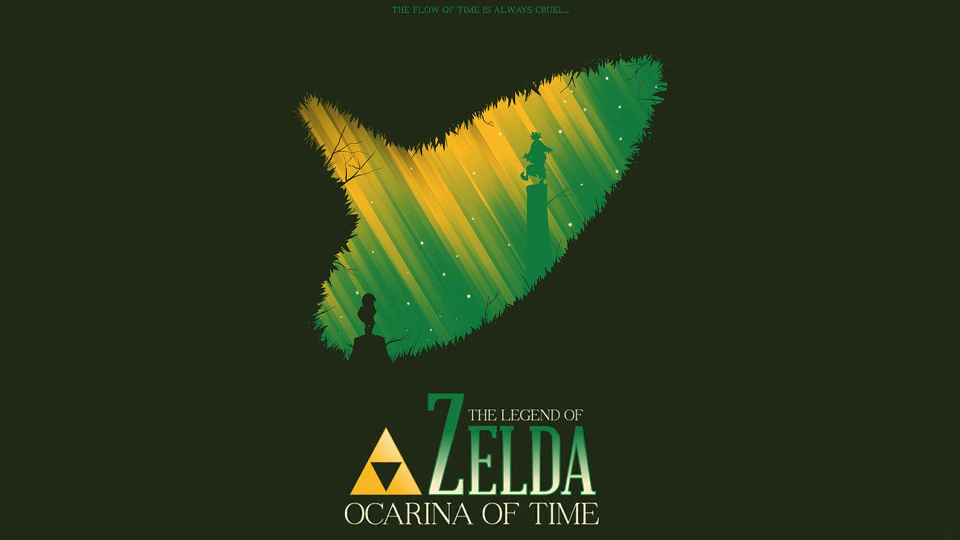the legend of zelda: ocarina of time hd wallpaper   background image