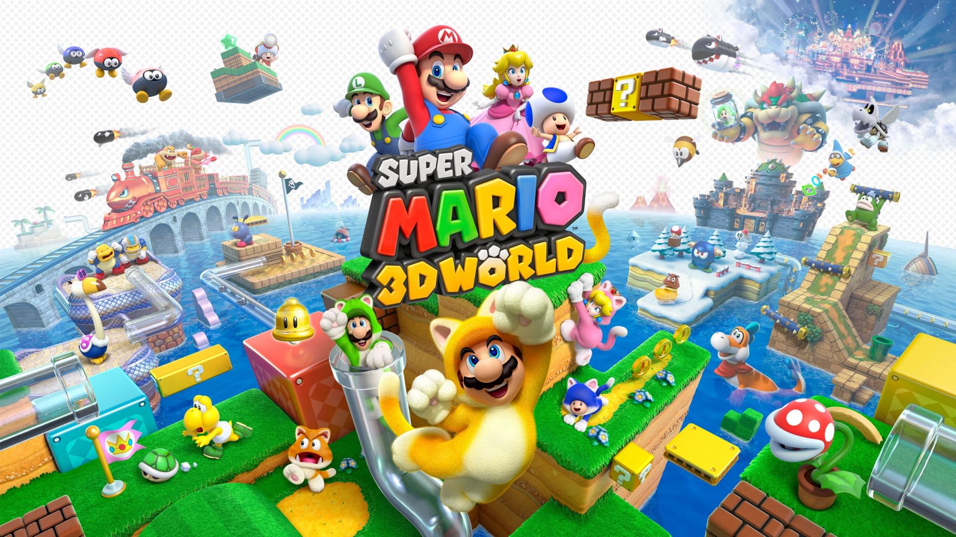 7 Super Mario 3D World Fondos De Pantalla HD