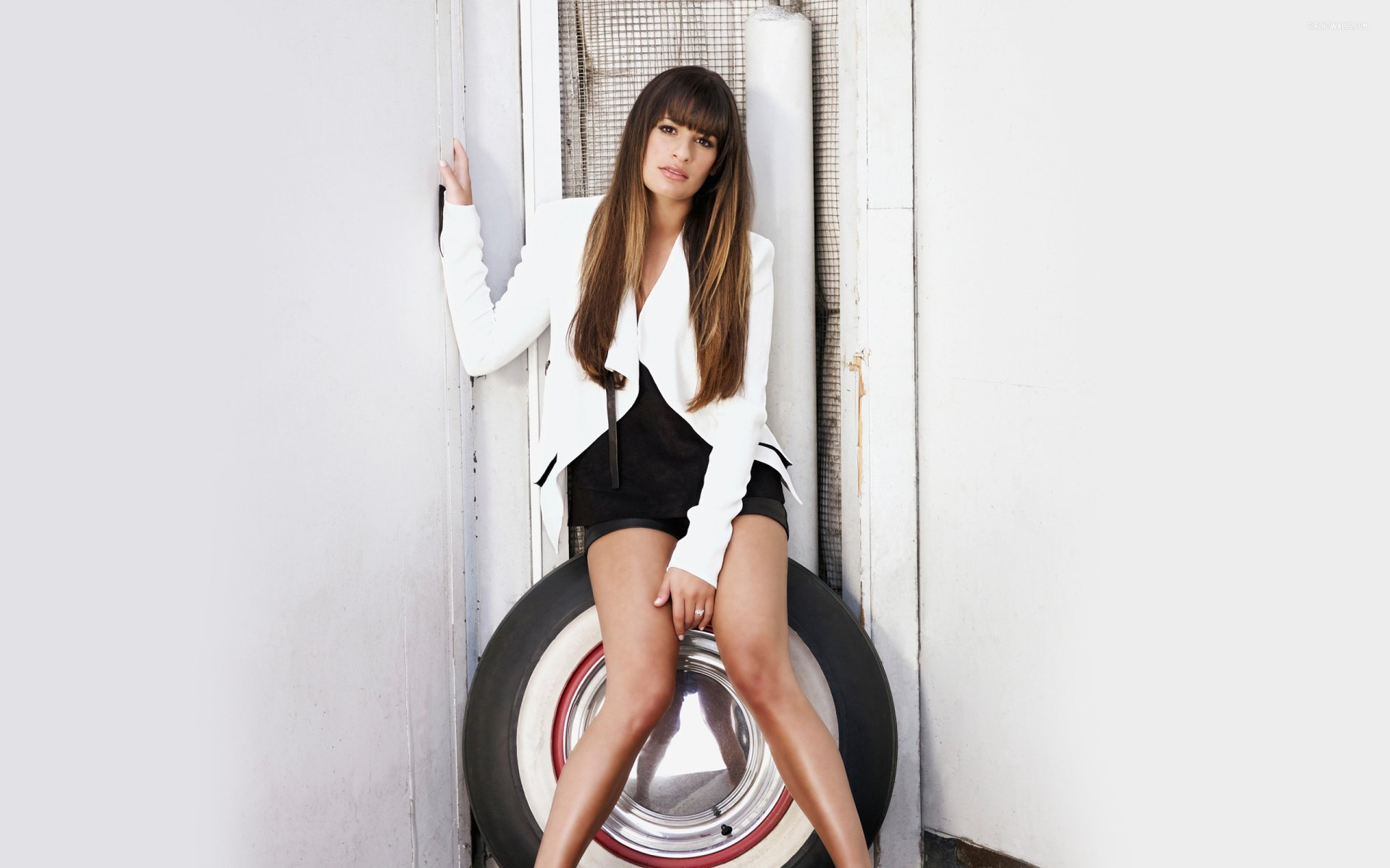 Celebrity - Lea Michele  Actress American Wallpaper