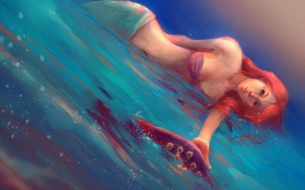 Películas La Sirenita (1989) La Sirenita Fantasía Sirena Agua Ariel Fondo de pantalla HD   Fondo de Escritorio