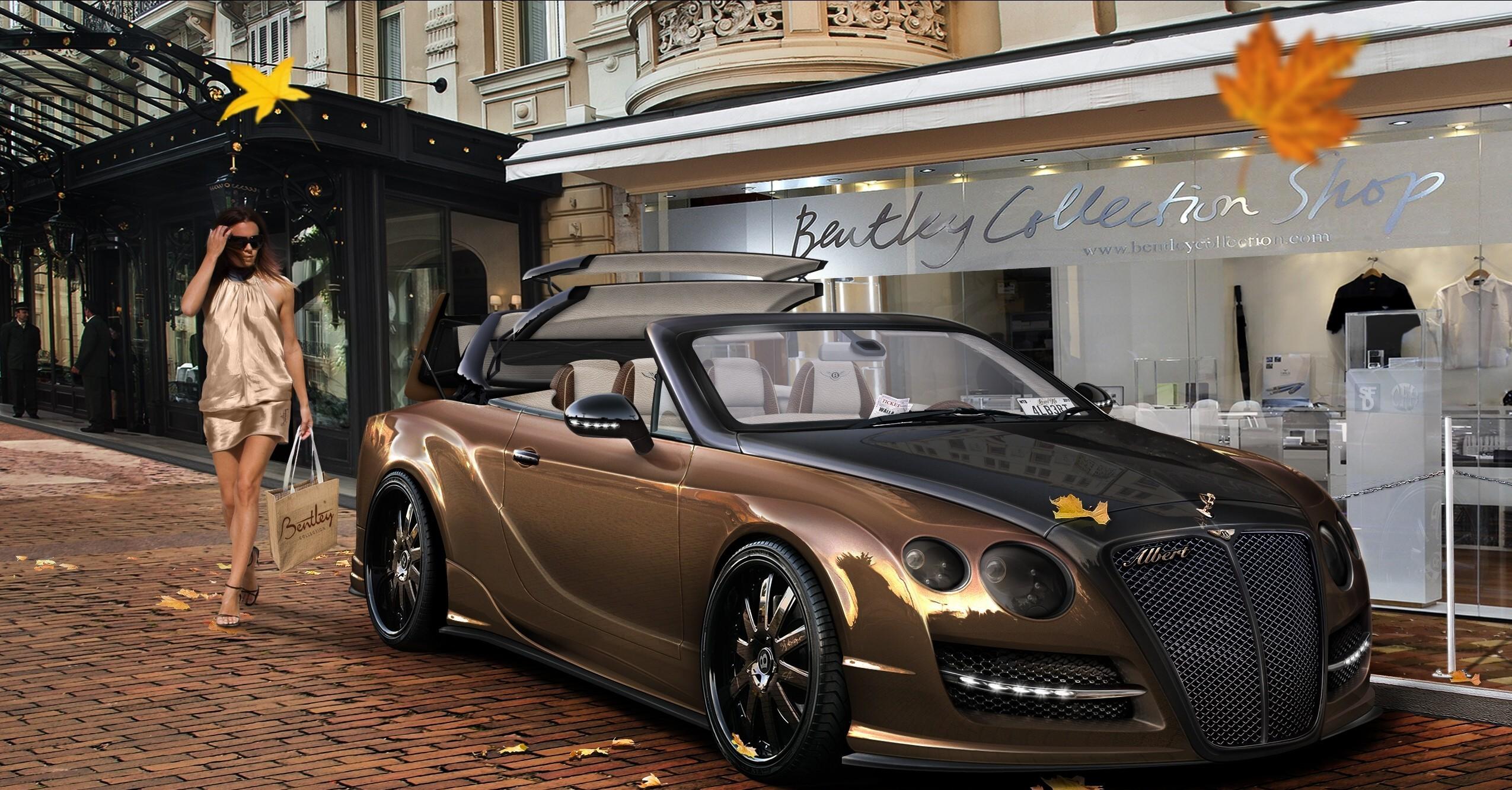 Bentley Continental Gt Convertible Hd Wallpaper