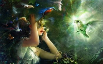 Fantasy - Women Wallpapers and Backgrounds ID : 521271