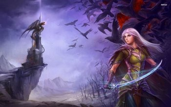Fantasy - Women Warrior Wallpapers and Backgrounds ID : 522281