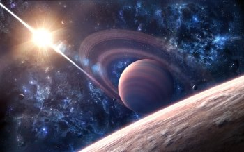 Sci Fi - Planetary Ring Wallpapers and Backgrounds ID : 522678