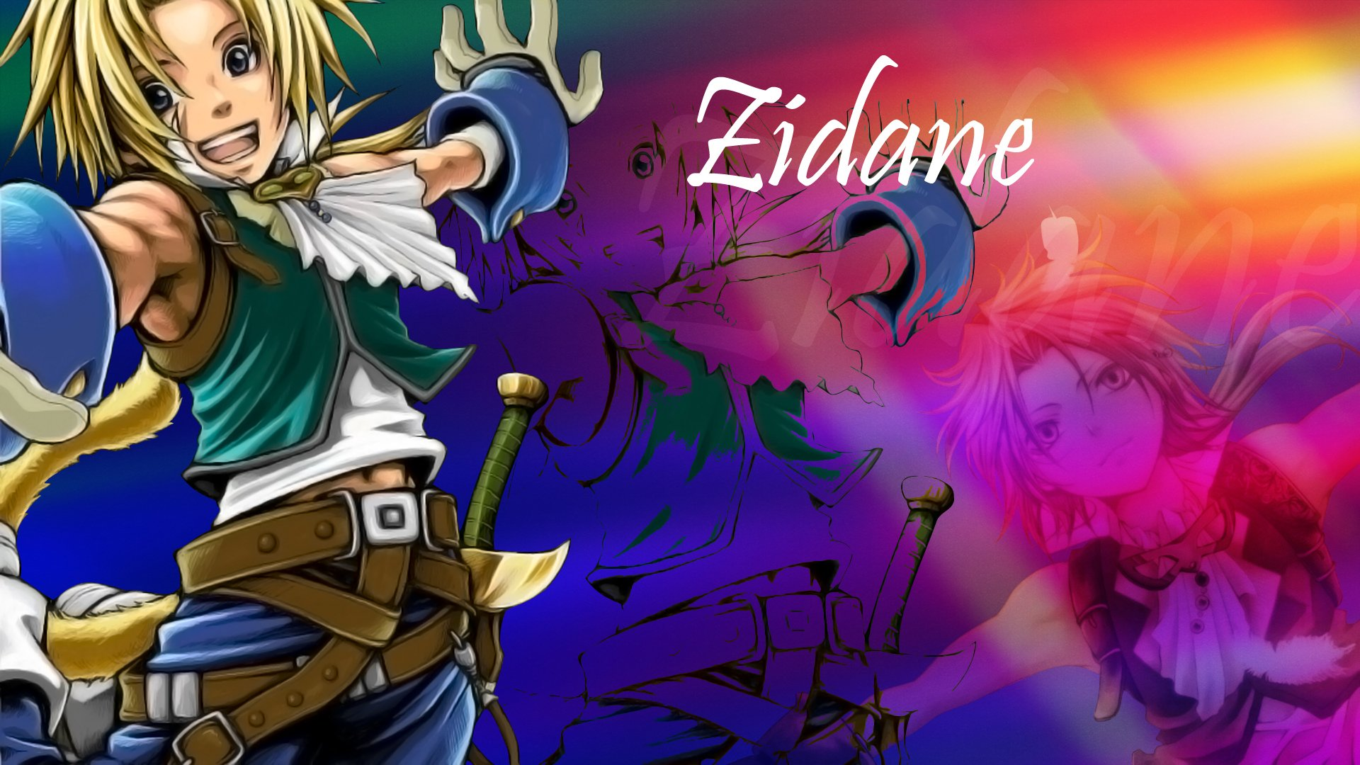 Video Game - final fantasy IX  Zidane Tribal Wallpaper