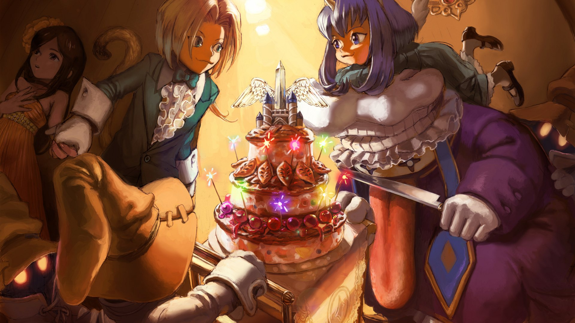26 Final Fantasy Ix Hd Wallpapers Background Images Wallpaper