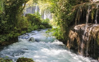 Earth - Waterfall Wallpapers and Backgrounds ID : 523702