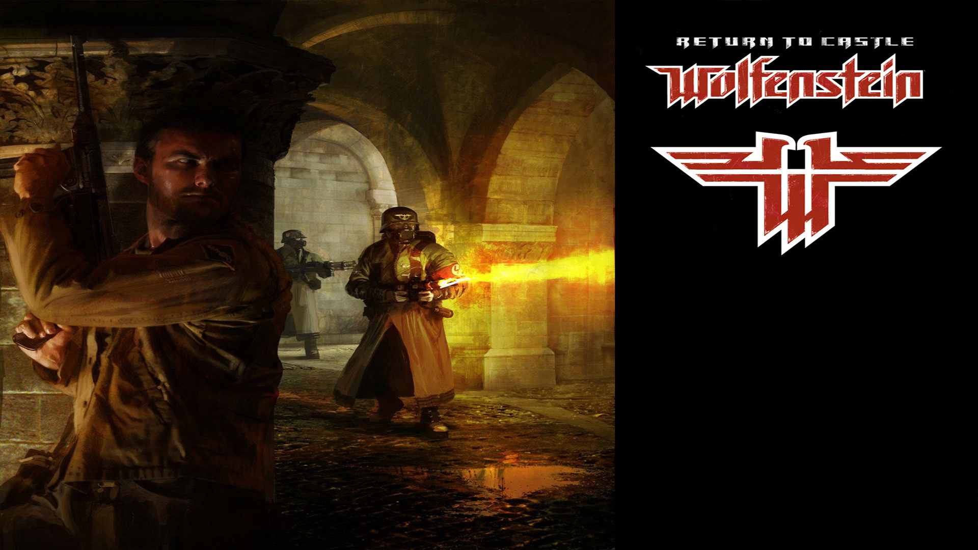 2 return to castle wolfenstein hd wallpapers backgrounds for Castle wolfenstein