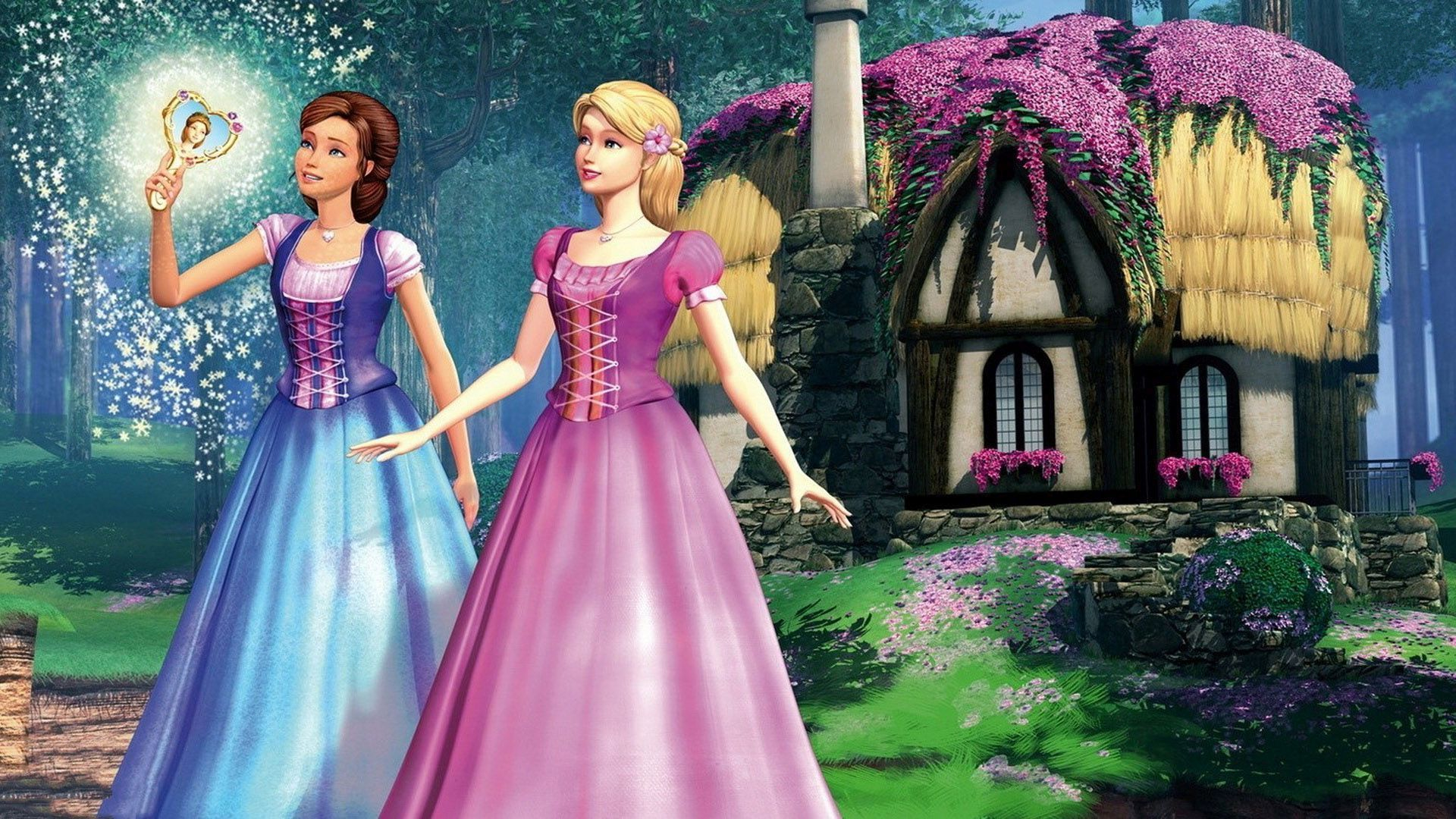 3 barbie the diamond castle hd wallpapers backgrounds wallpaper abyss. Black Bedroom Furniture Sets. Home Design Ideas